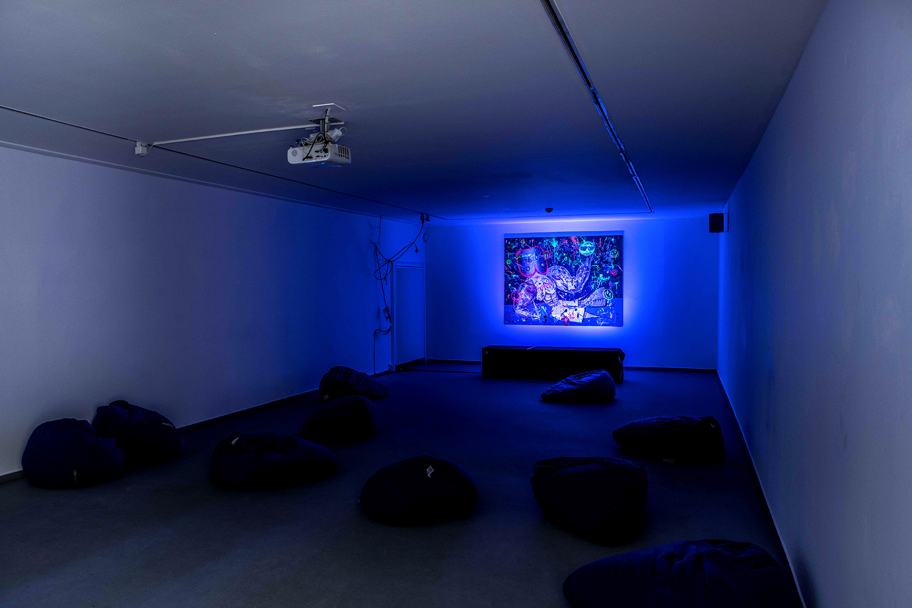 Marc Jung, video installation, 2019