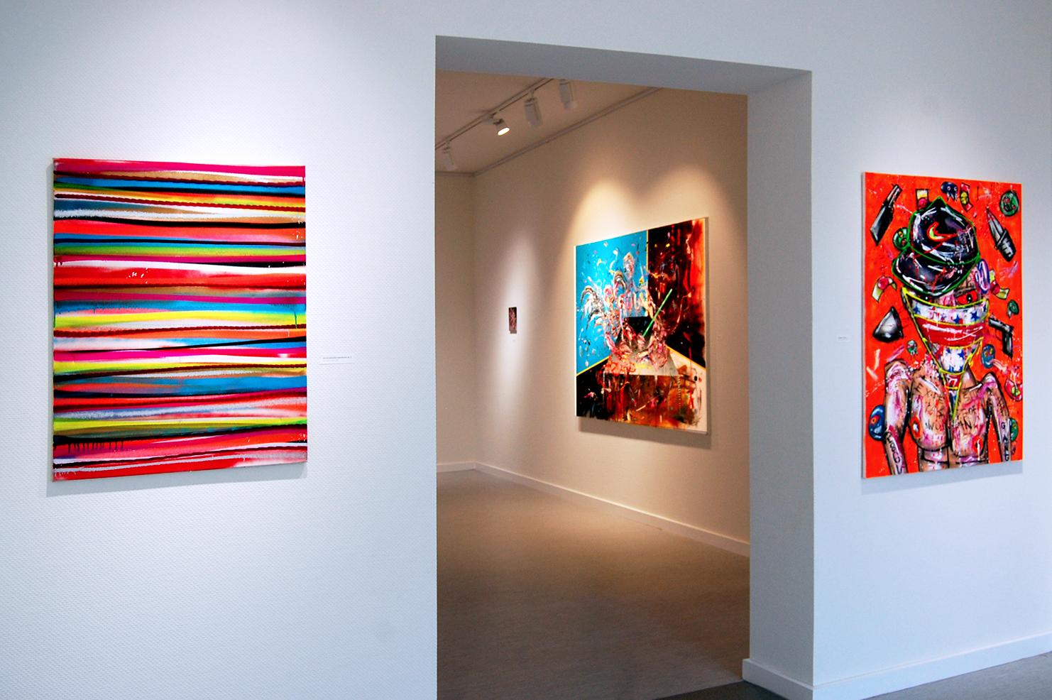 """""""PALMEN AUS BETON"""", 2019, Galerie im Kloster, Kunstverein Ribnitz-Damgarten"""