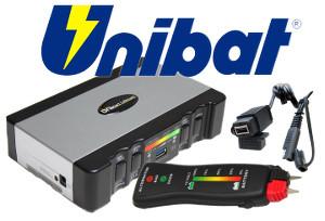 Unibat Unicharger Ladegeräte zubehör, Unibat Unistart, Unibat UniUSB