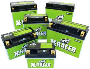 Unibat X-Racer Lithium-Ionen Batterien Collage