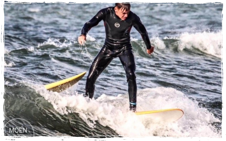 Surfen mit Oceanblue Watersports