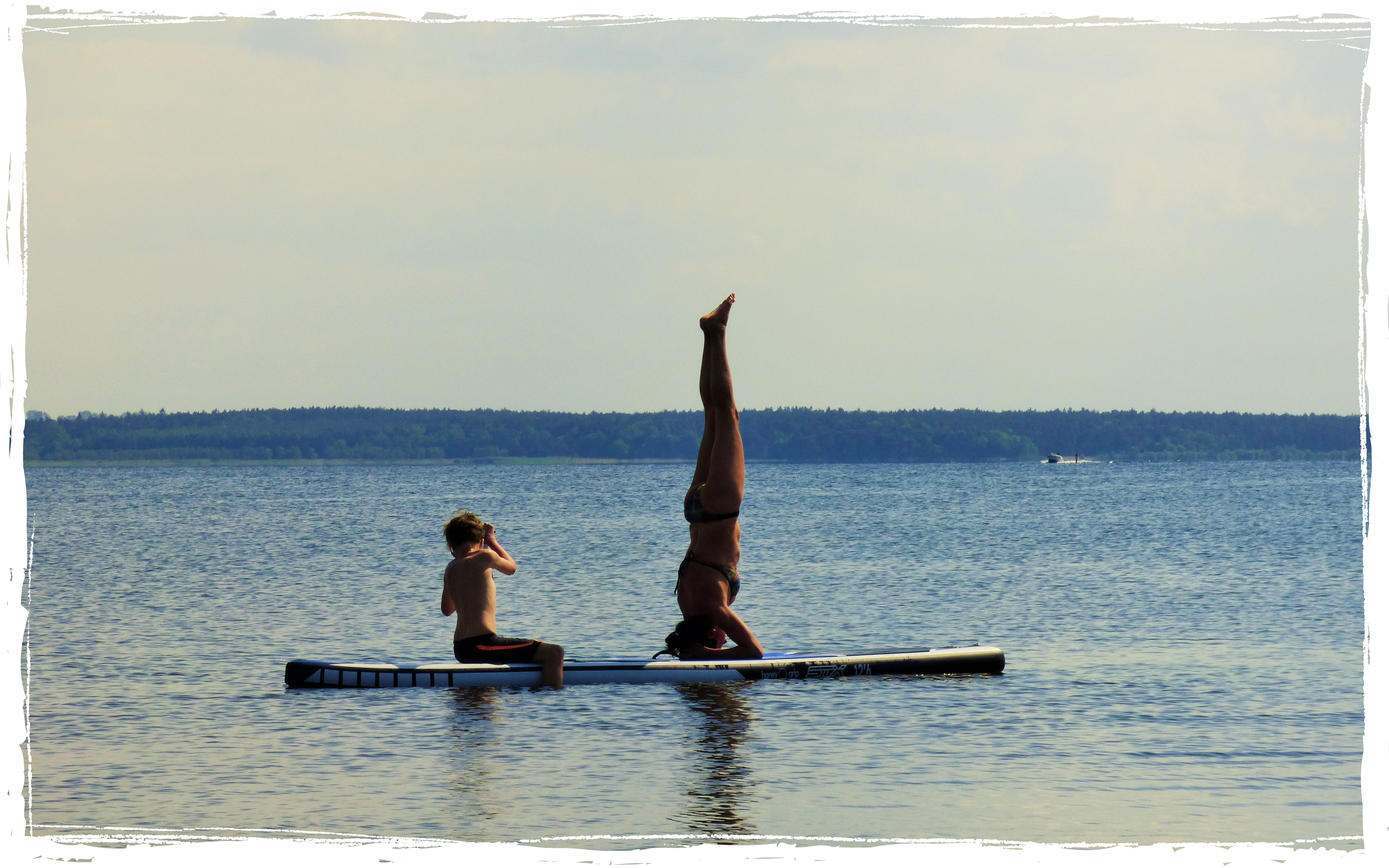 Stand Up paddling bei Surfschule Oceanblue watersports