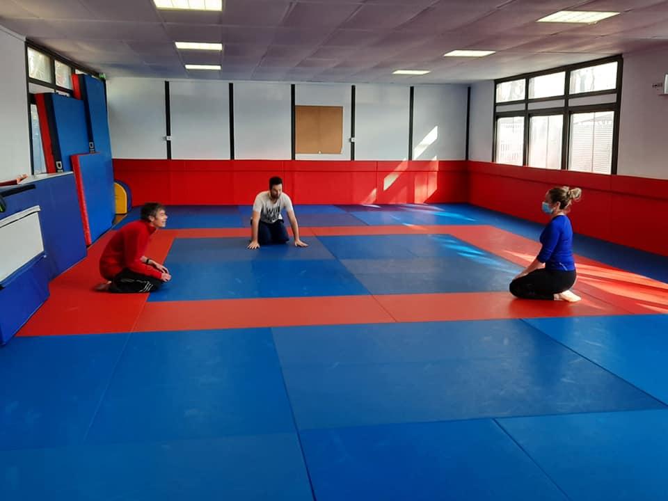 Judo avec Gaelle