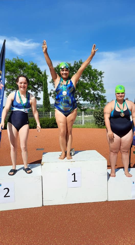 Lucie Championne de France 50 m nage libre !