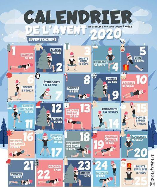 Le calendrier de l'avant
