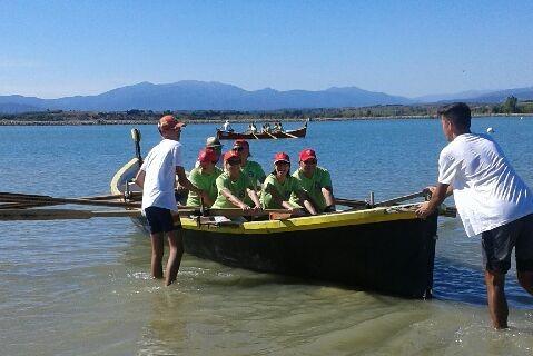 Challenge barques catalanes à Villeneuve de la Raho