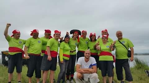 Participation au challenge des barques catalanes à Villeneuve de la raho