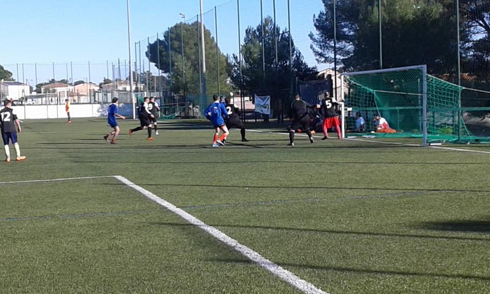 12 janvier à Jacou équipe de foot
