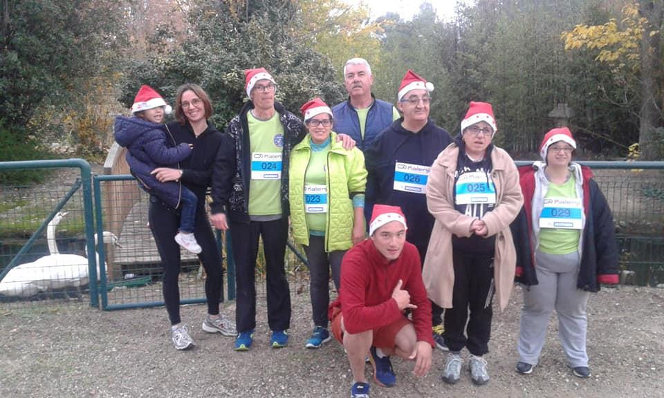 30 nov course de noël à Toulouges pour le téléthon