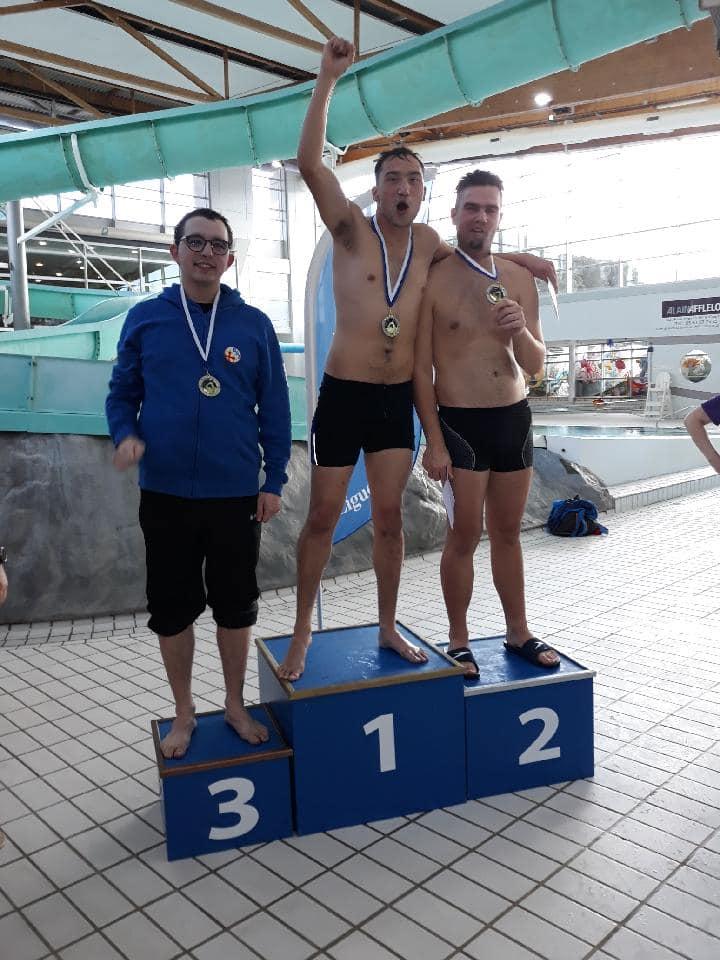 1 février à Castres Championnat Sport Adapté Handi Sport 3 médailles