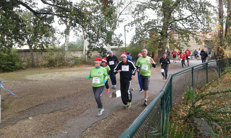 Course de Noël à Toulouges,déc 2017.