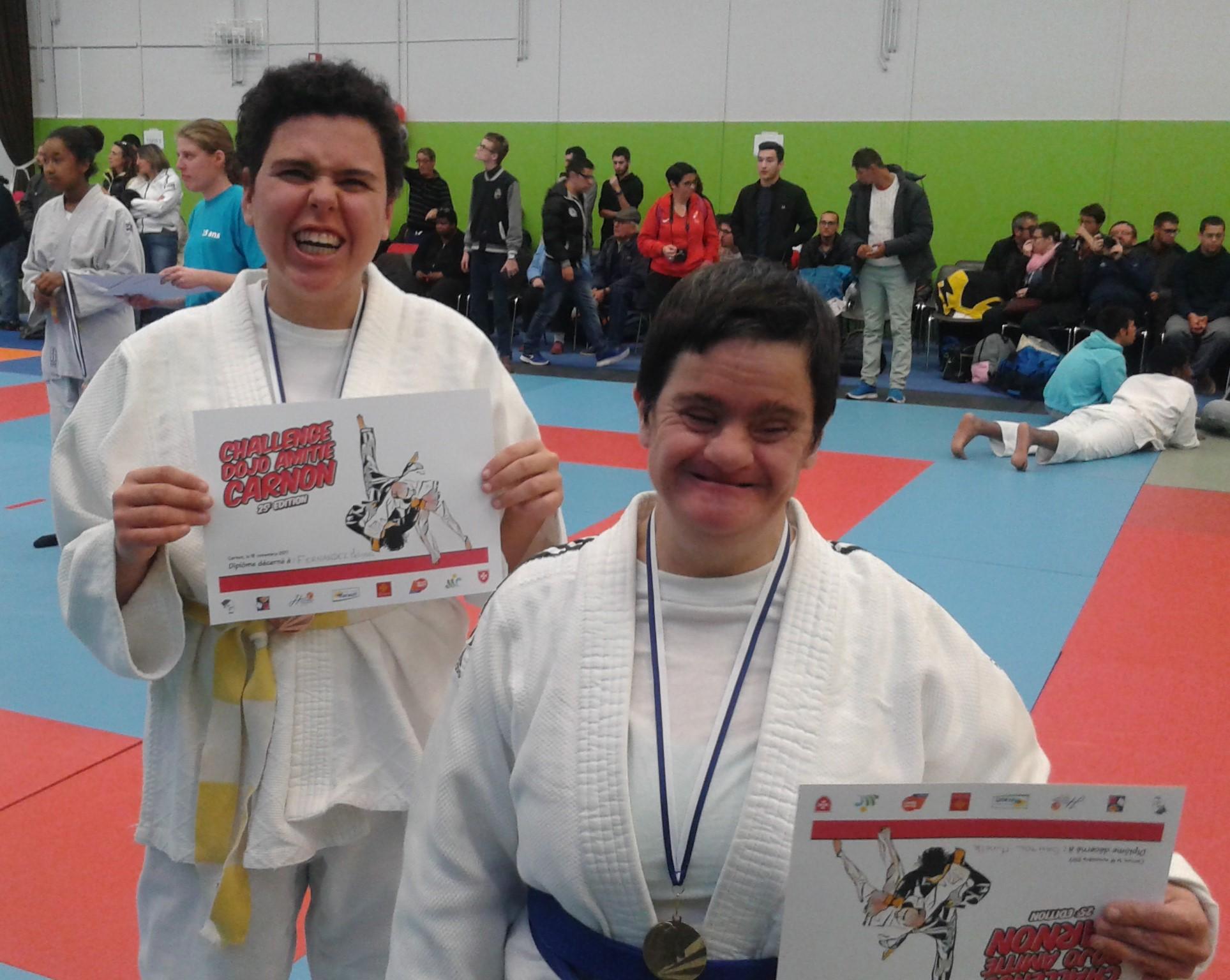 Championnat Interrégional Judo Occitanie,Mumu et Mélissa