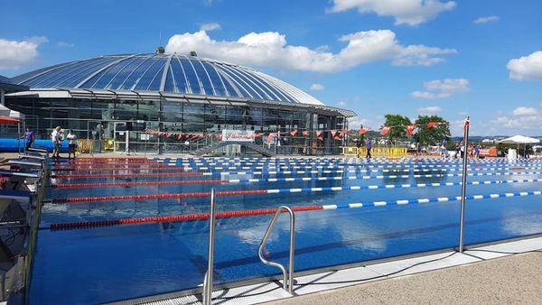 Belle piscine olympique