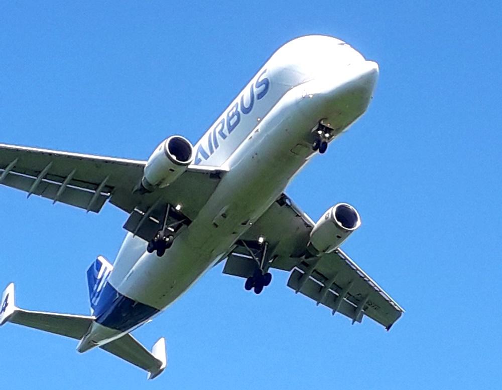 Flugzeug Beluga