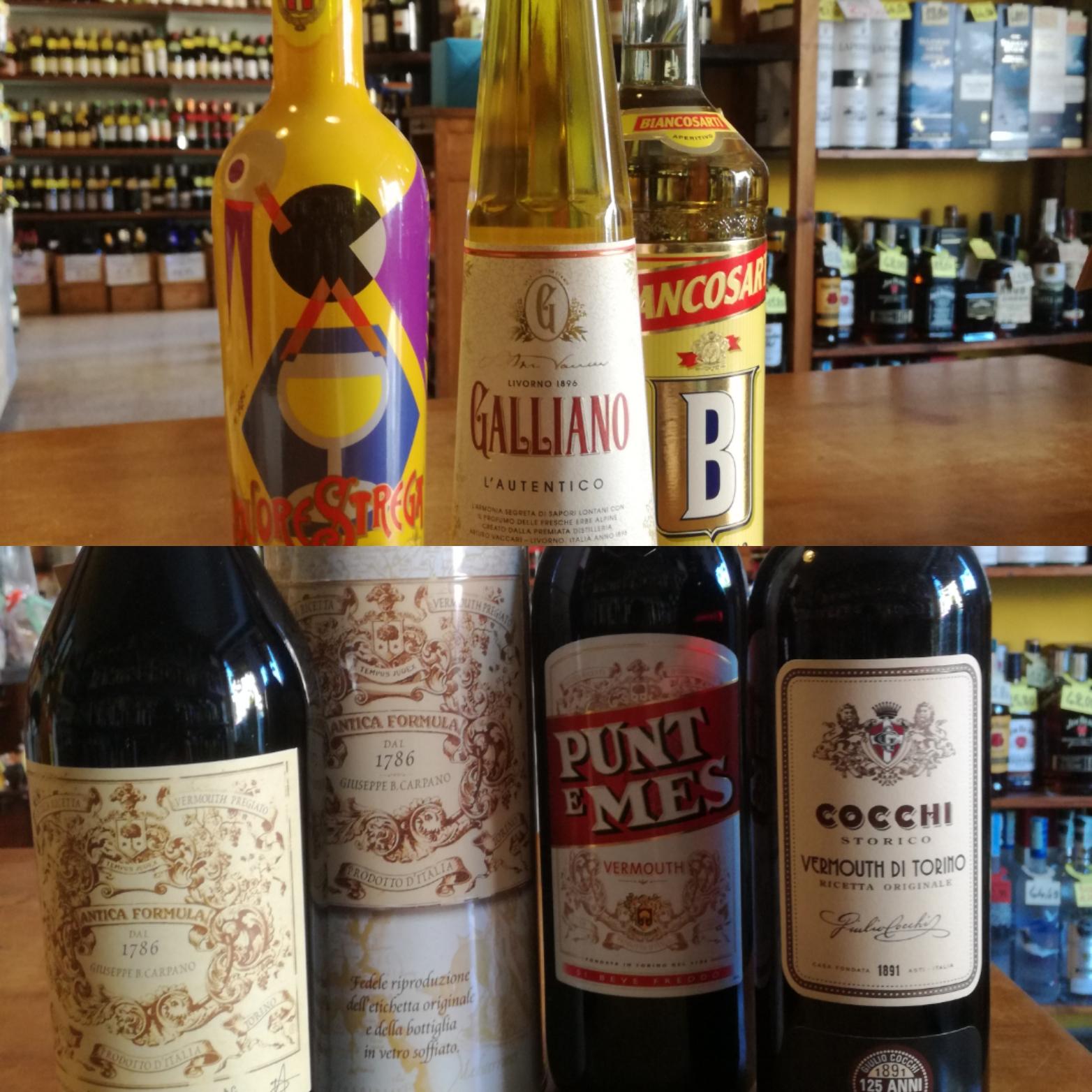 Italian Old Fashioned Liquors