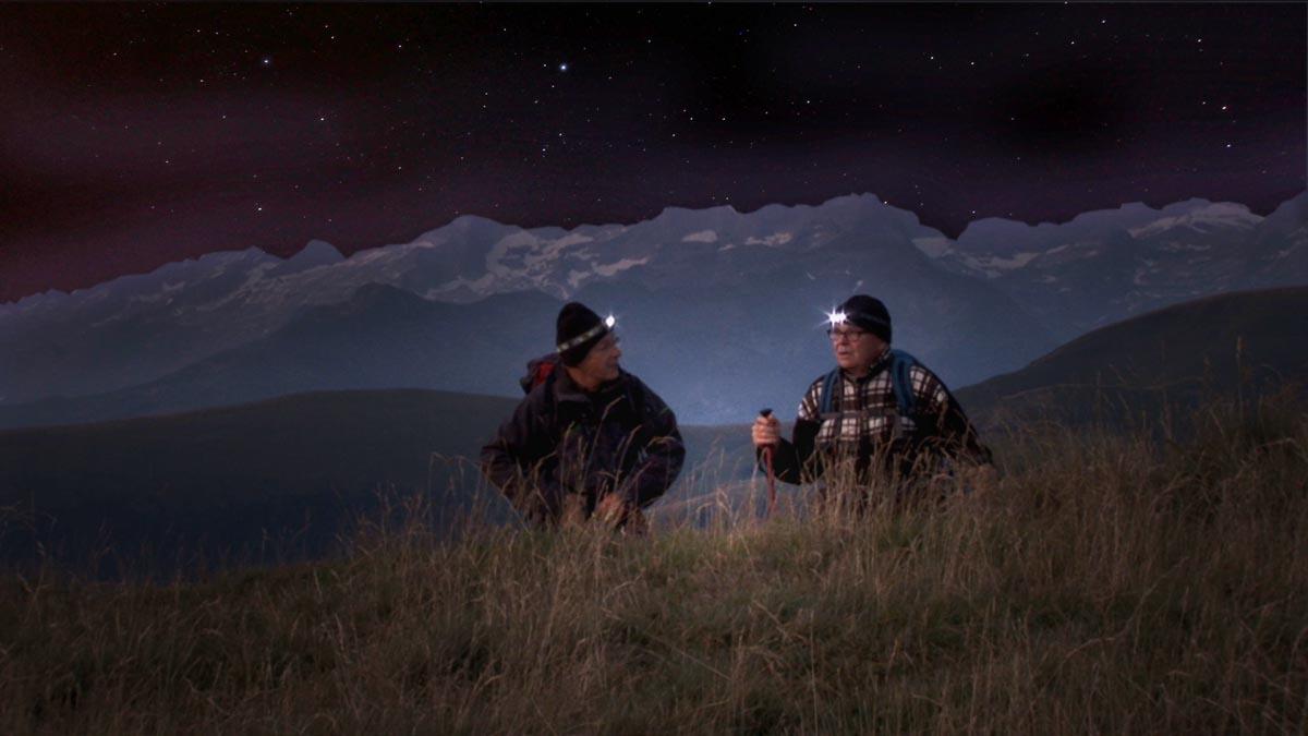 Une nuit sous les étoiles du Mont Né