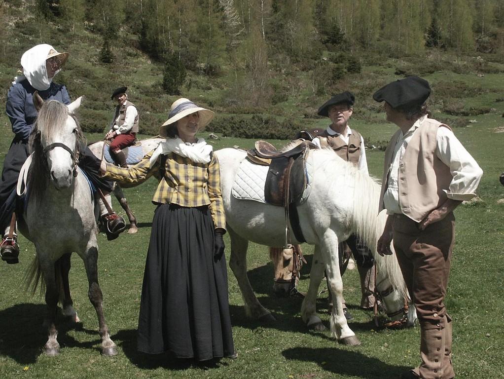 Ann Lister et ses guides