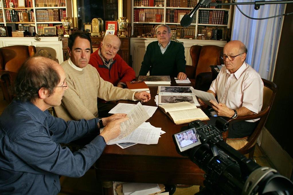Nos historiens travaillant sur le projet VIGNEMALE