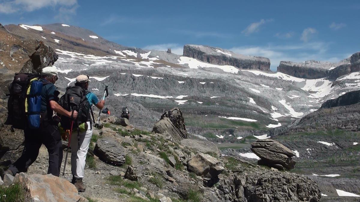 Et offrant une vue originale sur les sommets de Gavarnie