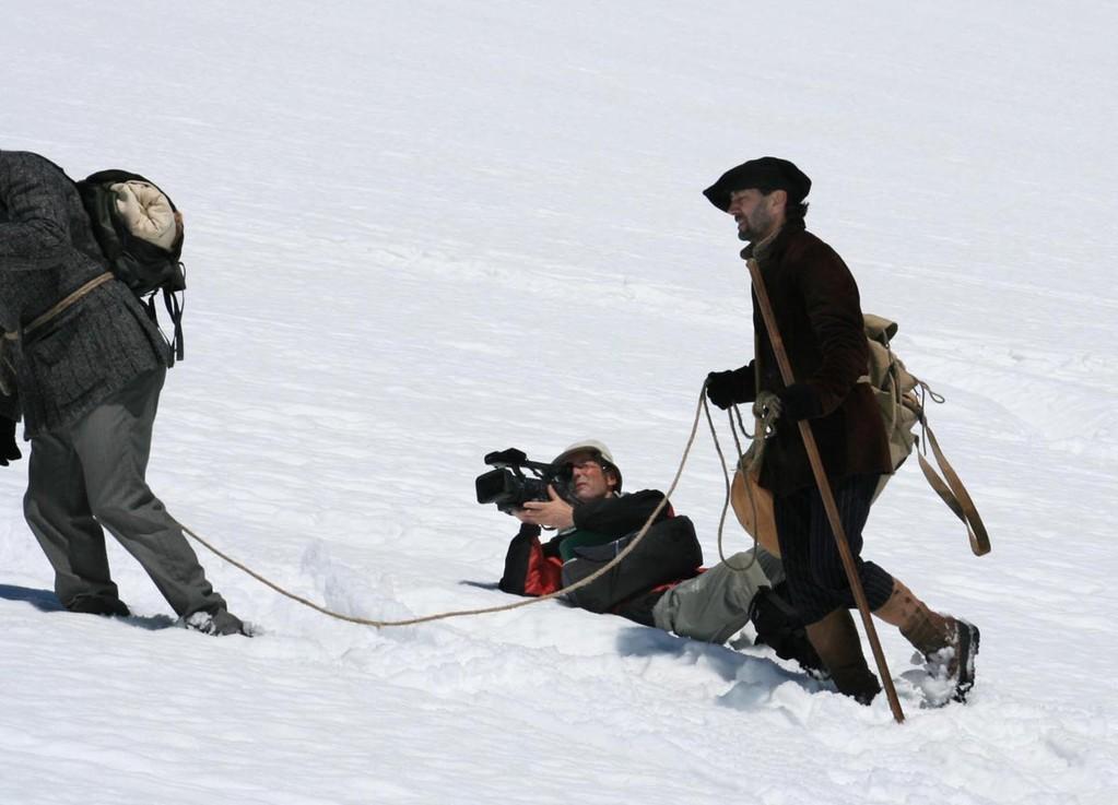 Dur métier que le cinéma en montagne