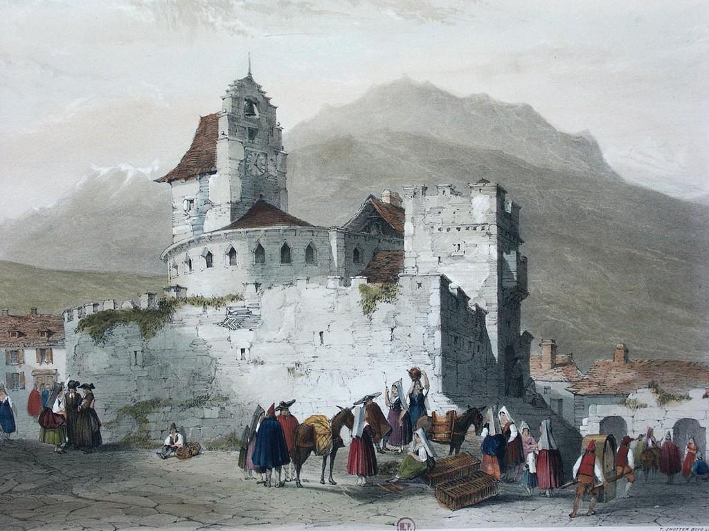 Eglise de Luz par Oliver