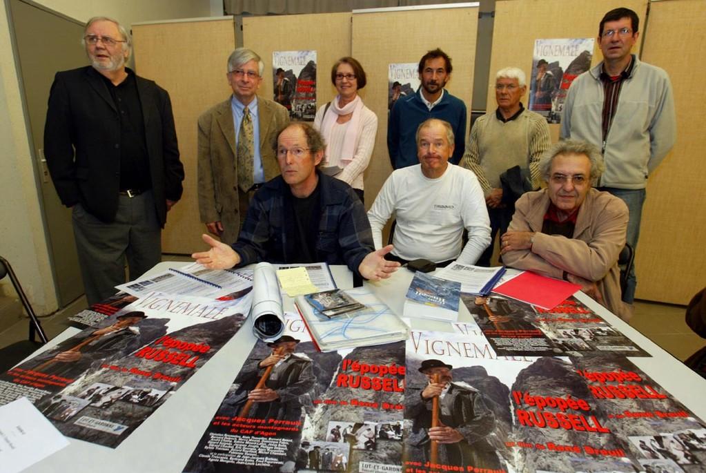 """Conférence de presse pour le lancement de """"l'épopée Russell"""