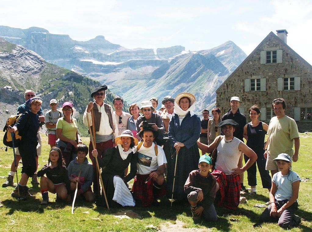 L'équipe du tournage aux Espuguettes