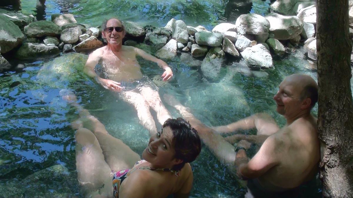 Des bains sauvages bien mérités