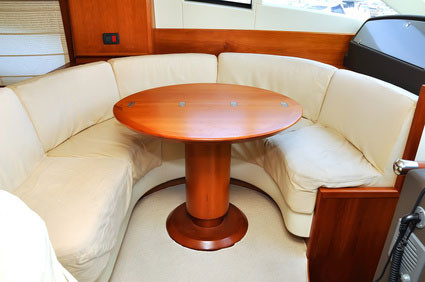 Anwendungsbeispiel Boot / Polsterung der Sitze