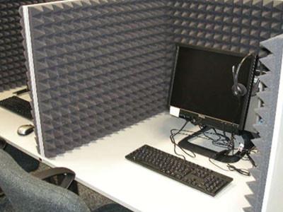 Anwendungsbeispiel Schall- und Akustikschutz am Arbeitsplatz