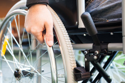 Anwendungsbeispiel Sonderanfertigungen für Rollstuhlkissen