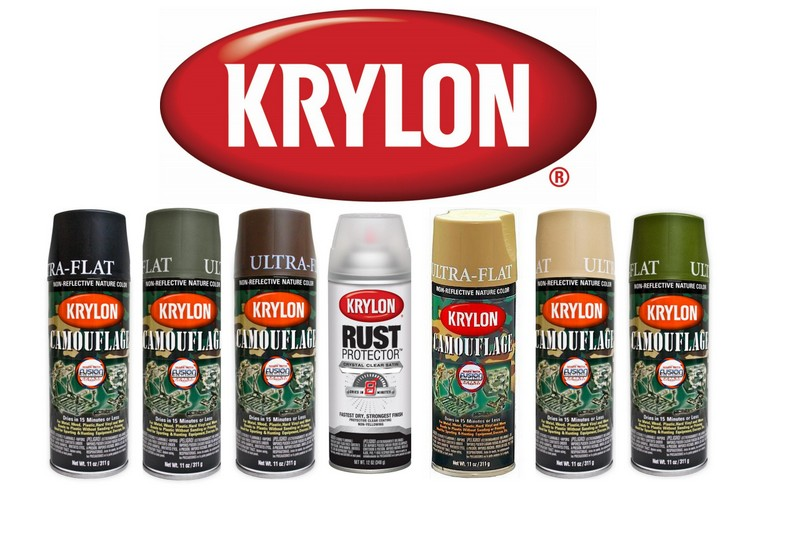 Krylon Camo Paint 6 Camo Colours Available Amp Combo 4