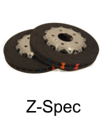 2 Piece Brake Rotors - Znoelli Z Spec 2 piece Brake Disc