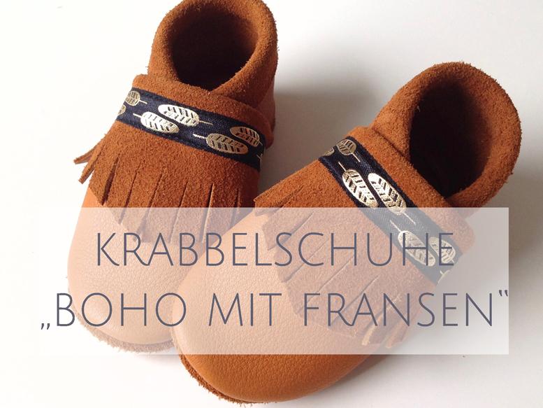 Krabbelschuhe BOHO