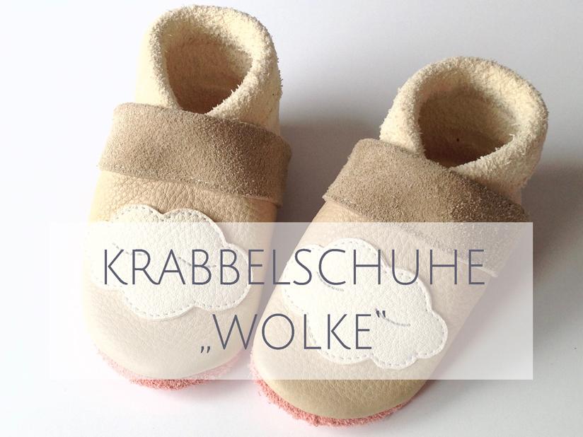 Krabbelschuhe WOLKE
