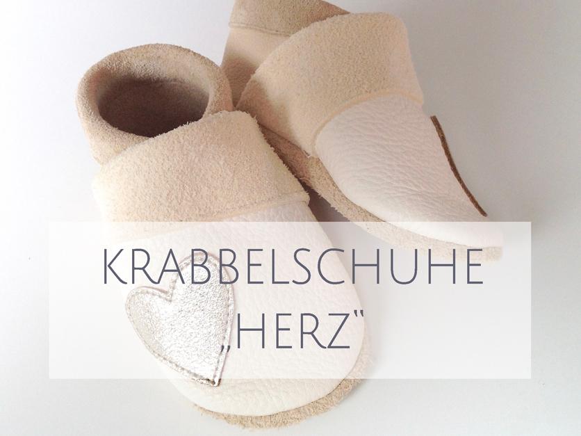 Krabbelschuhe HERZ