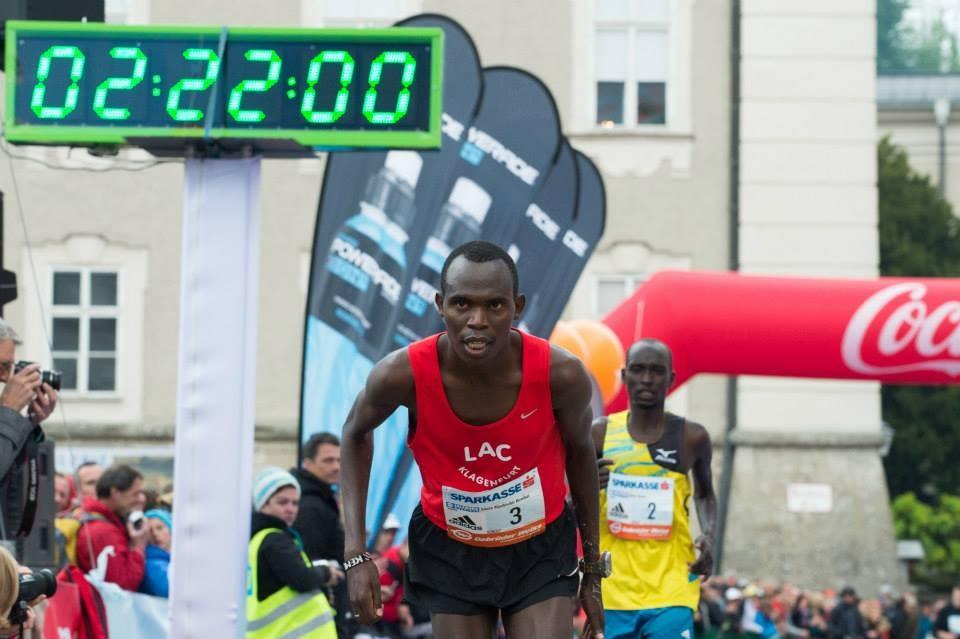 Der Sieger und österr. Staatsmeister aus Kenia