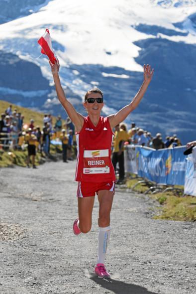 Sabine Reiner am Weg zum Vize-Weltmeister-Titel