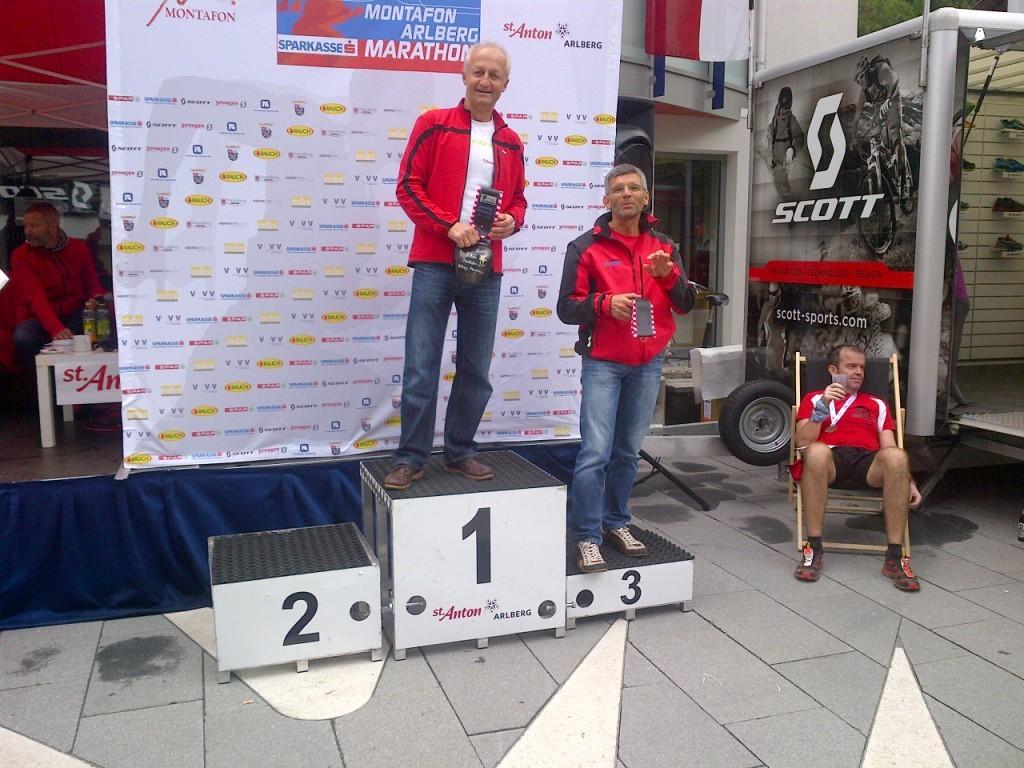 Karli, 3. Platz beim Panoramalauf (AK 50)