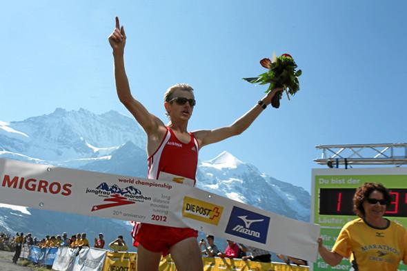 der Weltmeister Markus Hohenwarter