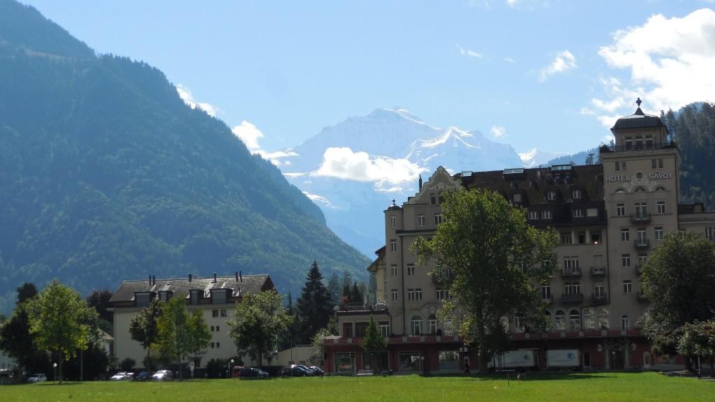 Interlaken - Blick auf die Jungfrau
