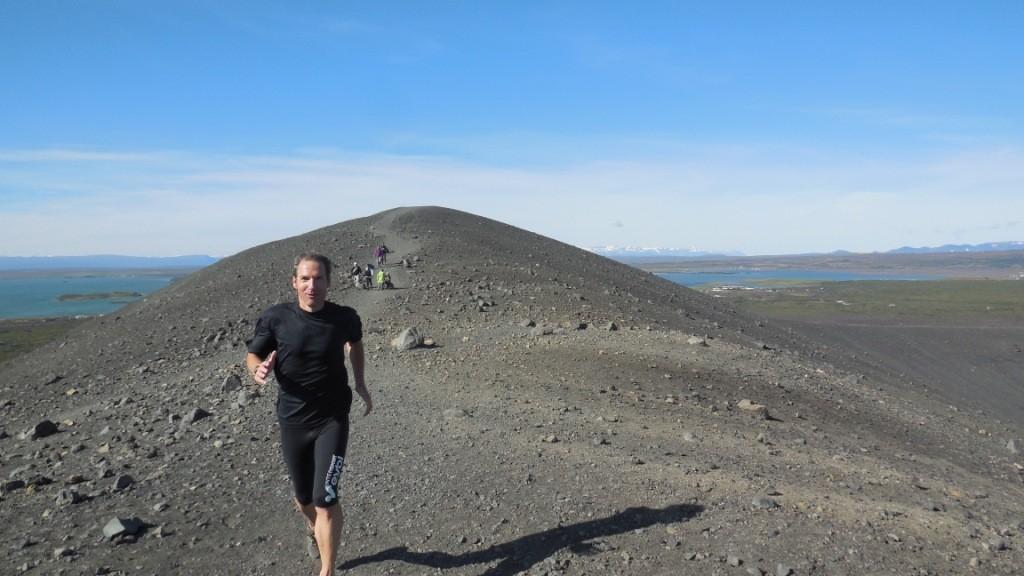 Vulkan in Myvatn