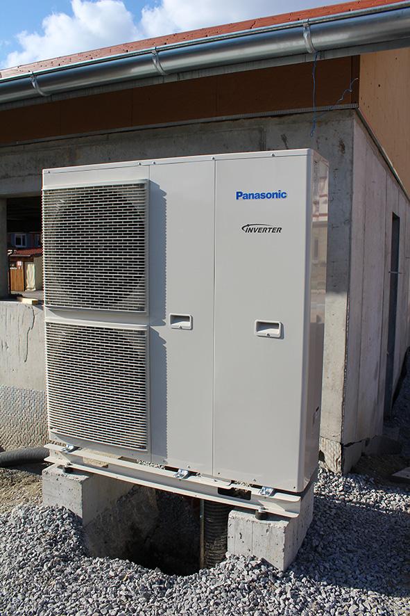 Außengerät Wärmepumpe Panasonic