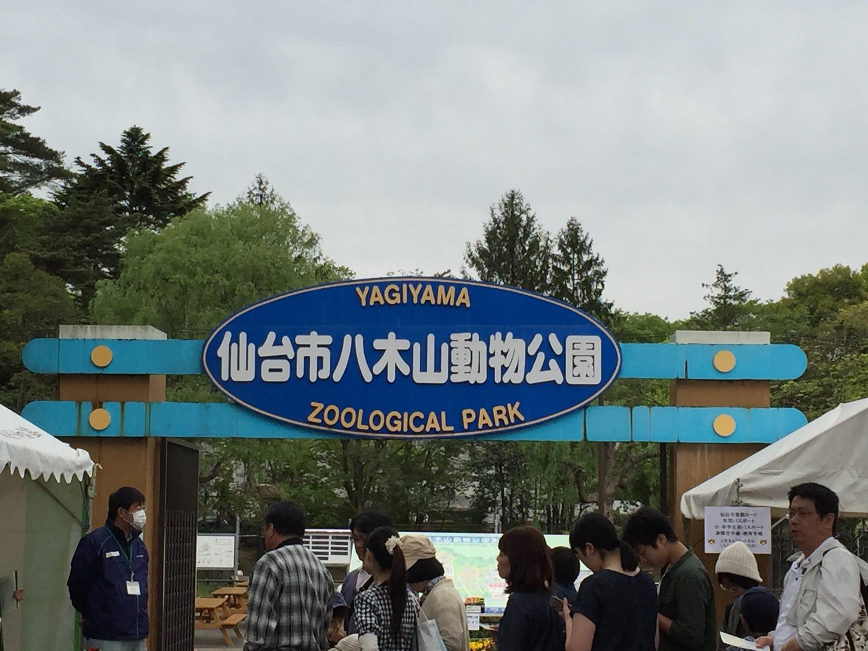 5/5、10数年ぶりの八木山動物園、仙台駅からシャトルバスで!