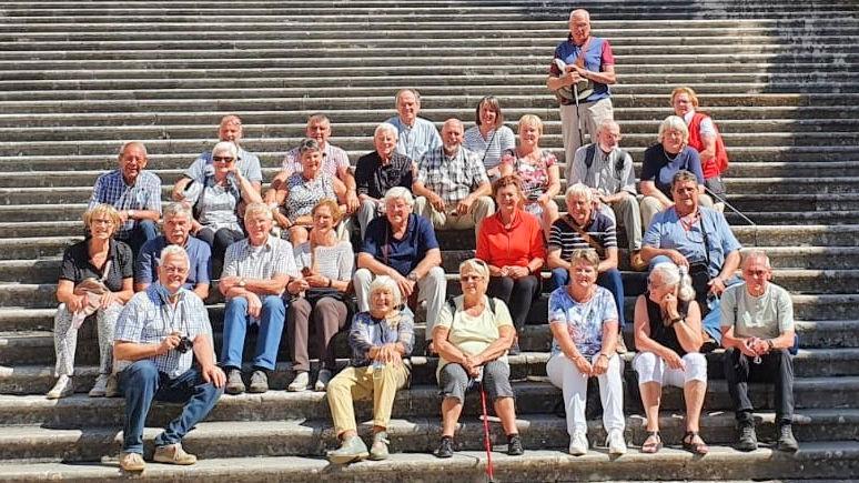 Deelnemers aan de Midden Italië reis