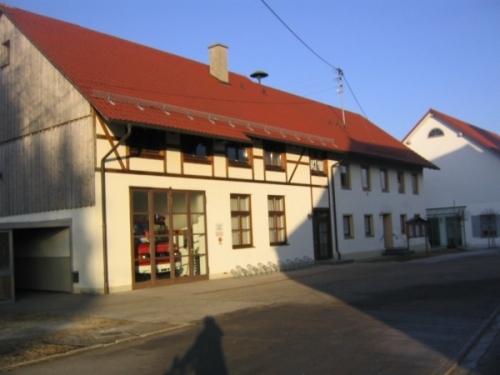 """Feuerwehrgerätehaus und """"Alte Schual"""""""