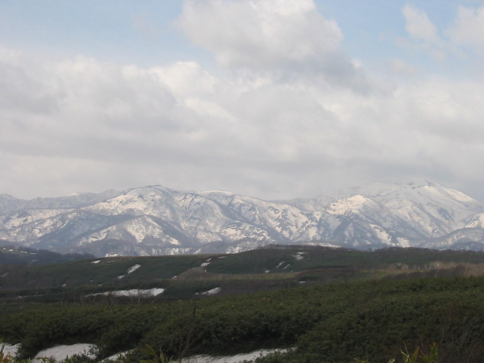 月越峠からの大平山