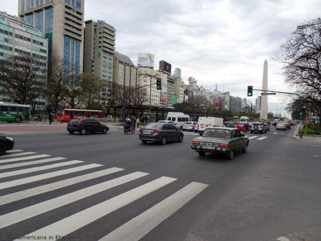 eine der breitesten Straßen der Welt.