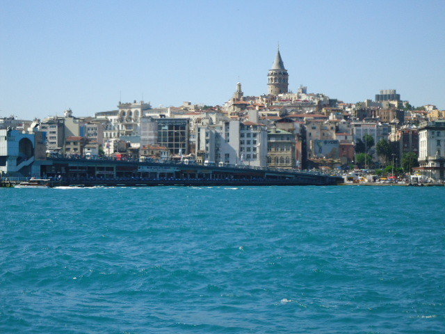 Galata tower from Eminonu