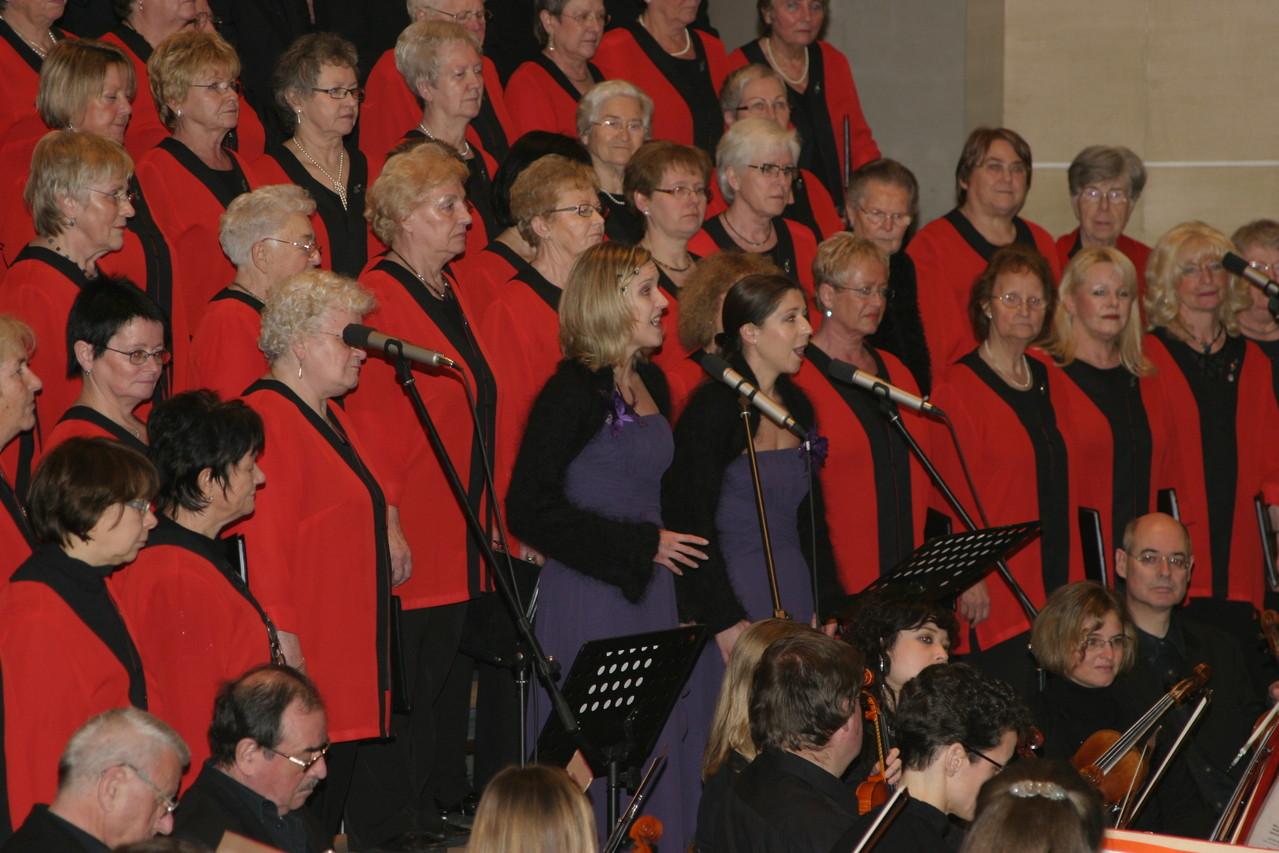 Benefiz-Jub.-und Abschiedskonzert 40 Jahre W.A. Dippon 08.01.2011 - Stadtkirche Vaihingen/Enz